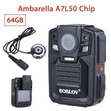 Ambarella A7L50 1290P Security Infrared Body Worn Camera Night Vision Portable