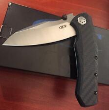 ZERO TOLERANCE ZT 850 BLUE CF KNIFE NEW AUTH DEALER