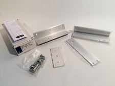 SCHLAGE Locknetics TJ20 628 Satin Aluminum 320 TJ Mounting Kit