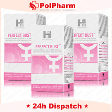 3x NEW PERFECT BUST TABS NATURAL ENLARGING BREAST SAFE Larger Boobs Breastfast