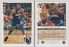 NBA UPPER DECK 1994 COLLECTOR'S CHOICE - Randy Brown # 95 - Ita/Eng- NM