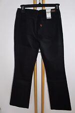 Levi's Levi Levis Women's Size 4 M $44.50 Black Jeans NWT NEW Denim 515 Bootcut