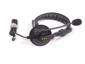 Digicom Wireless Intercom Eartec SlimLine SingleEar Headset Digicom/TCX - Used