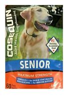 Cosequin joint health supplement for senior dogs 60 soft chews  #7808
