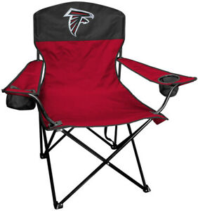 ATLANTA FALCONS LINEMAN Quad Folding Chair [NEW] NFL Travel Tailgate