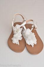 chaussures tongs blanc C M PARIS  grande  taille 41  ref  0916262tong
