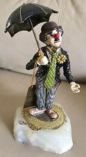 RON LEE Charlie Chaplin VINTAGE Gold Figurine