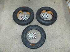 3 COPERTONI E 3 CAMERE D'ARIA 4-00-12 PER MOTOCARRO PIAGGIO APE TM 703