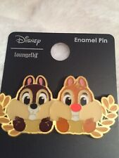 LOUNGEFLY DISNEY CHIP & DALE ENAMEL PIN LE BOX LUNCH EXCL