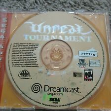UNREAL TOURNAMENT DREAMCAST DISC ONLY