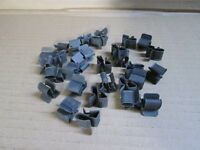 STEEL BRAKE PIPE OR LOOM CHASSIS CLIPS JOB LOT OF X 30