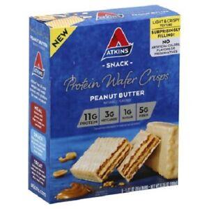 Atkins Snack Protein Wafer Crisps Peanut Butter
