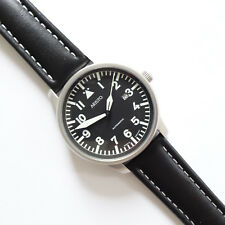 Aristo 3h114, Laco, 42 mm, acero inoxidable, Matt, obra silencioso, eta 2824-2