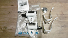 Shimano Exage Sport A450 Pedals + Toe Clips White L Set New old Stock
