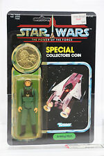 Star Wars Vintage 1985 MOC POTF A-Wing Pilot AFA (75 85 85) UNPUNCHED - Last 17!
