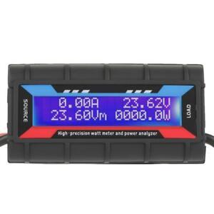 4.8V~60V Digital High  Watt Meter Voltage Amp Meter Power Analyzer SY