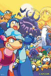 Mega Man Poster Video Game