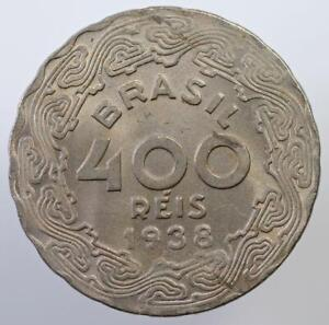 BRAZIL - 400 REIS - 1938 - GETULIO VARGAS