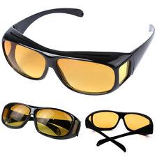 Men Women HD Night Vision Driving Anti Glare Sunglasses Over Wrap Around Glasses