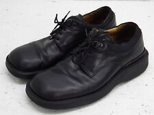 Tolo Leather mens Italian oxford casual work shoes black 9.5