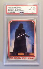 "1980 STAR WARS #105 PSA 8 NM - MT EMPIRE STRIKES BACK ""WEAPON OF LIGHT"" VADER"