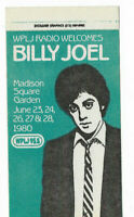 Billy Joel 1980 Concert Glass Houses Tour Sticker Vintage Promo Radio Orig. RARE