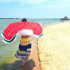 Watermelon Beach Picnic Round Towel Large Swimming Holiday Blanket Travel Mat