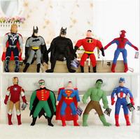 "40"" Super Hero Spiderman Batman Captain Anime Soft Plush Toy Stuffed Doll Gift"
