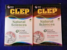 CLEP Test Preparation:CLEP Natural Sciences,W/ New Disc, David & Laurie Callihan