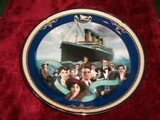 1999 Bradford Exc Titanic Queen of the Ocean Plate 10th Issue The Human Legacy