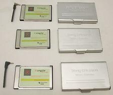 Cingular Sony Ericsson GC82 (2) & GC83 EDGE PC Cards  - wireless mobile internet