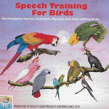 Speech Training for Birds Audio Cd (Parakeets, Parrots, Cockatiels, Mynas, etc.)