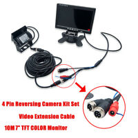 """Reversing Camera System with 7"""" LCD Monitor+HD Camera+10M Cable for Reversing"""