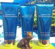 3 Pieces Elizabeth Arden Mediterranean Body Lotion 3.3 oz each st#str2