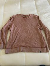 The North Face Pullover Crew Neck Knit Sweater Sweatshirt XL Heathered Red