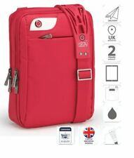 """10.1"""" iPad Bolsa con correa para el hombro antideslizante rojo is0131"""