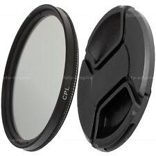49mm CPL Filter Polfilter & Objektivdeckel lens cap Green.L Einschraubanschluss