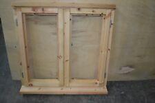 New Unfinished Glazed Softwood Window 910mm x 1045mm 2 x Side Openers Jeld Wen