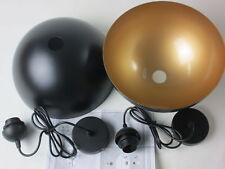 B WARE: B.K.Licht Design 2x Vintage LED Pendelleuchte Φ 30cm für E27