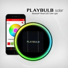 PLAYBULB Smart Solar Garden Light Color Changing Yard Lawn Outdoor Decor Lamp