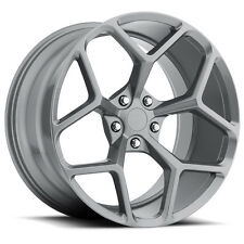 MRR M228 20x10 Chevy Camaro 5x120 Gun Metal Wheels Rims (Set of 4)