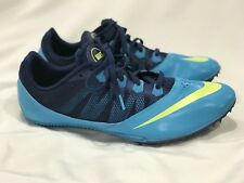 New listing Nike Zoom Rival S 7 Track Field Racing Spikes Gamma Blue Us 11.5 ( 616313 474 )
