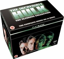 The INCREDIBLE HULK COMPLETE SERIES SEASON 1 2 3 4 5 BOXSET LOU FERRIGNO DVD, R4