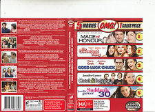 Made of Honour/The Sweetest Thing/Good Luck Chuck-++[3 Disc]-5-Movies OMG-3 DVD