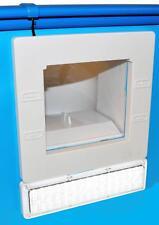 Einbauskimmer mit LED Beleuchtung 145mm Saugbreite Oberflächensauger Poolskimmer