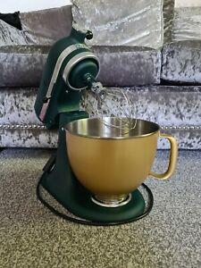 Kitchenaid Artisan 4.8L Stand Mixer Pebbled Palm Gold Bowl 300W LTD EDITION