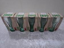 5 X Coca Cola Olimpiadi Vetro 1899 1916 1955 1961 2012 Limitata Edtion