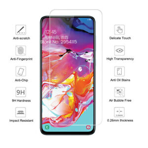 Protective Glass For Samsung Galaxy A02S A12 A32 A42 A52 5G A72 Screen Protector