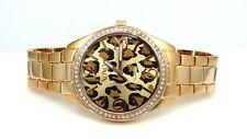 XOXO XO5638 Leopard Dial Crystal Rose Gold Women's Watch - GREAT GIFT