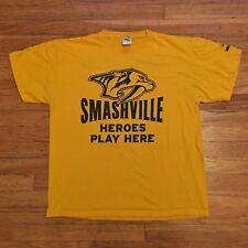 Nashville Predators Smashville NHL Hockey Shirt XL
